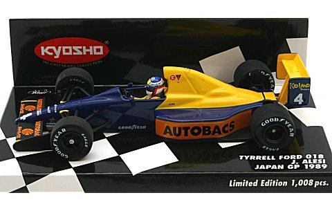 ティレル フォード 018 ジャン・アレジ 1989 日本GP仕様 (1/43 ミニチャンプス403890104)