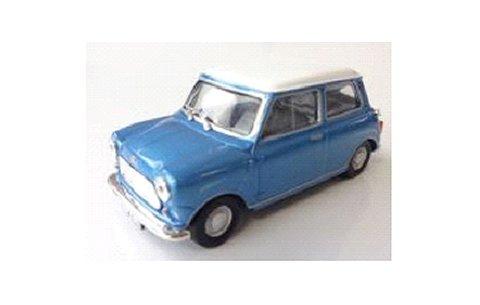 モーリス ミニ クーパー S ブルー/ホワイト (1/43 ソリドS4300400)