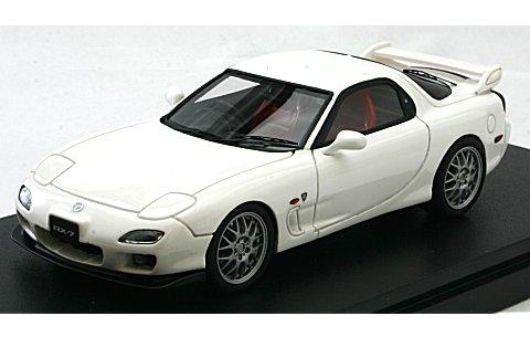 マツダ RX-7 (FD3S) スピリットR タイプB ピュアホワイト (1/43 マーク43 PM4305BW)