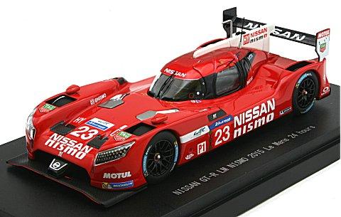 ニッサン GT-R LM ニスモ 2015 ルマン24時間 No23 (1/43 エブロ45256)