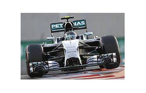 メルセデス AMG ペトロナス F1チーム W05 N.ロズベルグ アブダビGP 2014 (1/43 ミニチャンプス410140406)
