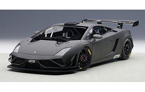 ランボルギーニ ガヤルド GT3 FL2 2013 マットダークグレー (1/18 オートアート81360)