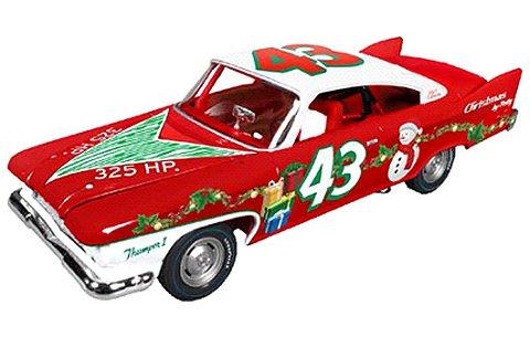 1960 Plymouth Fury Richard Retty クリスマスver. (1/24 アメリカンマッスルAW24003)
