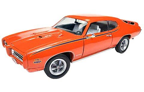 1969 Pontiac GTO Judge オレンジ (1/18 アメリカンマッスルAMM1058)