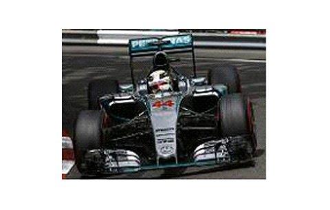 メルセデス AMG ペトロナス F1 チーム W06 ハイブリッド L.ハミルトン モナコGP 2015 ウイナー (1/43 ミニチャンプス417150144)