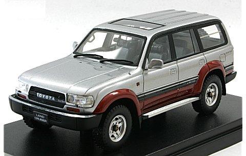 トヨタ ランドクルーザー 80 VX-LTD 1989 アドベンチャーロードトーニング (1/43 ハイストーリーHS124AT)