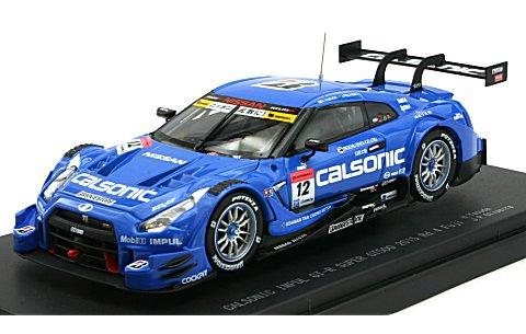 カルソニック インパル GT-R スーパーGT500 2015 Rd.4 Fuji No12 (1/43 エブロ45278)