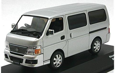 ニッサン キャラバン E25 ブリリアントシルバー (1/43 Jコレクション JCP80001SL)