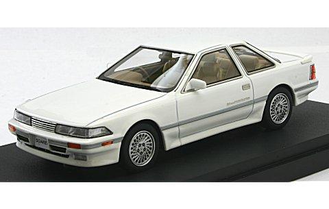 トヨタ ソアラ 2.0GT-ツインターボL (GZ20) 後期型 スーパーホワイトIII (1/43 マーク43 PM4315CW)