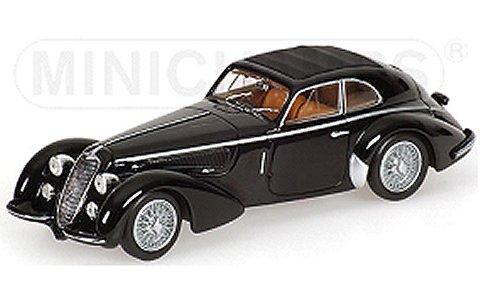 アルファロメオ 8C 2900 B LUNGO 1938 ブラック (1/18 ミニチャンプス100120421)