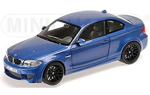 BMW 1er M クーペ 2011 ブルーM (1/18 ミニチャンプス110020025)