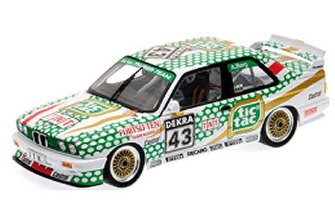 BMW M3 (E30) 「TIC TAC TAUBER BMW 」 ALLEN BERG ノリスリング RENNEN DTM 1991 (1/18 ミニチャンプス180912043)