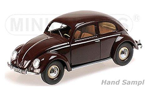 フォルクスワーゲン 1200 1949 レッドブラウン (1/18 ミニチャンプス107054002)