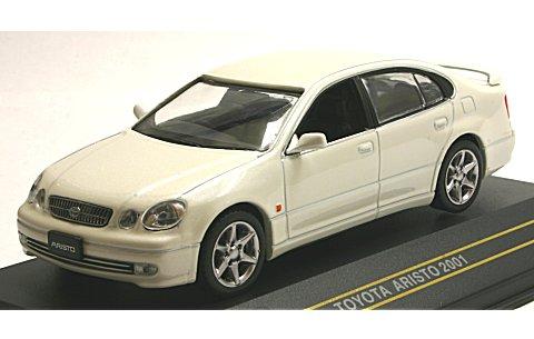 トヨタ アリスト 2001 パールホワイト (1/43 ファースト43 F43-045)