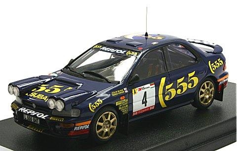 スバル インプレッサ 1995 ポルトガルラリー3位 ライトポッド付 (1/43 トロフューRRal33)