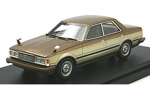 トヨタ クレスタ Super Lusent 1981 グランドストラータトーニング (1/43 ハイストーリーHS119BG)