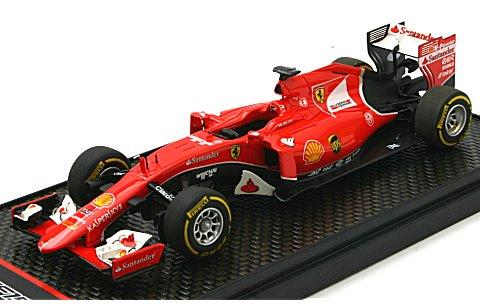 フェラーリ SF15-T ランチバージョン 2015 S.Vettel-K.Raikkonen (1/43 BBR BBRC168)