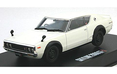 KGC110 ケンメリ スカイライン HT 2000GT-R ホワイト (1/43 ディズム80405)
