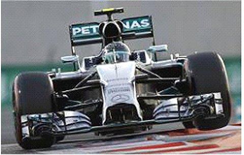 メルセデス AMG ペトロナス F1チーム W05 N.ロズベルグ アブダビGP 2014 (1/18 ミニチャンプス110140406)