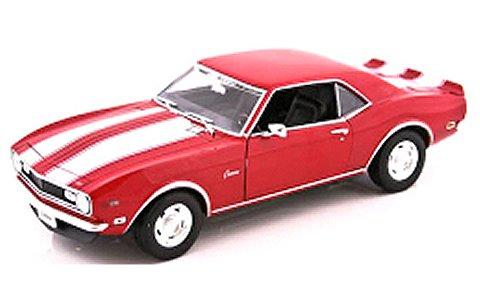 シボレー カマロ Z28 1968 レッド (1/18 ウエリーWE12553R