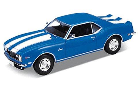シボレー カマロ Z28 1968 ブルー (1/18 ウエリーWE12553BL