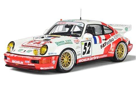ポルシェ 964 ルマン 1994 ホワイト/レーシングデカール (1/18 GTスピリット GTS104)