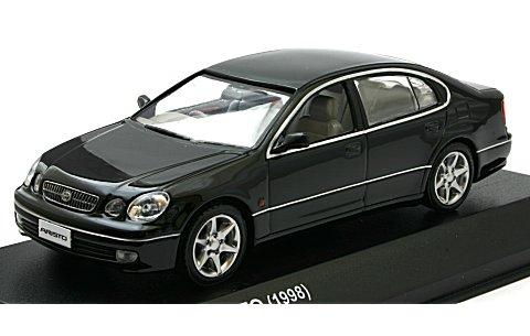トヨタ アリスト V300 1998 ブラックオニキス (1/43 京商KS03792BK)
