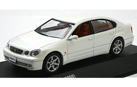 トヨタ アリスト V300 1998 ホワイトパールクリスタルシャイン (1/43 京商KS03792CW)