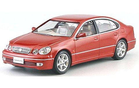 トヨタ アリスト V300 1998 レッドマイカ (1/43 京商KS03792R)