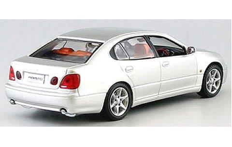 トヨタ アリスト V300 1998 シルバーM (1/43 京商KS03792S)