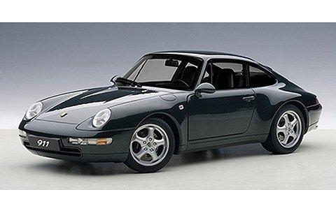 ポルシェ 911 (993) カレラ 1995 グリーン (1/18 オートアート78134)