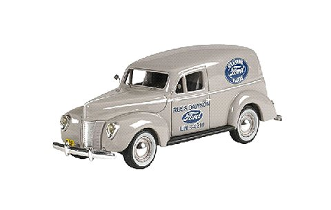 1940 フォード PANEL VAN 「Folkstone Gray」 (1/43 ジェニュインフォードパーツFPM442)