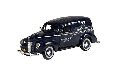 1940 フォード PANEL VAN 「Lyon Blue」 (1/43 ジェニュインフォードパーツFPM443)