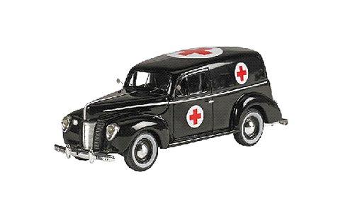 1940 フォード PANEL VAN ブラック (1/43 ジェニュインフォードパーツFPM444)
