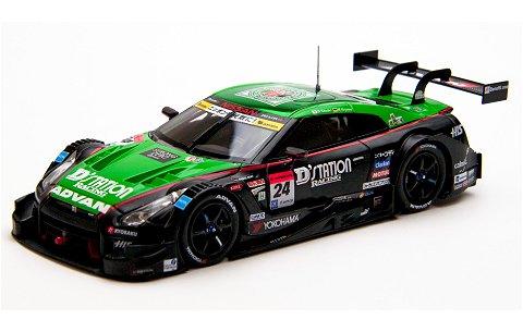 ディーステーション アドバン GT-R スーパーGT500 2015 Rd.4 Fuji Winner No24 (1/43 エブロ45280)