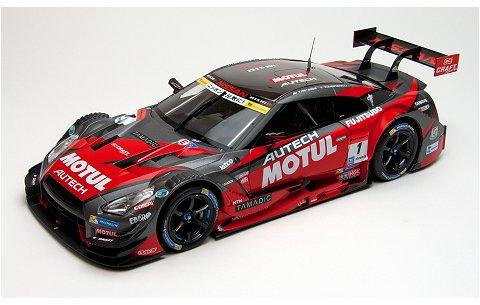 モチュール オーテック GT-R スーパーGT500 2015 チャンピオンカー No1 (1/18 エブロ81041)