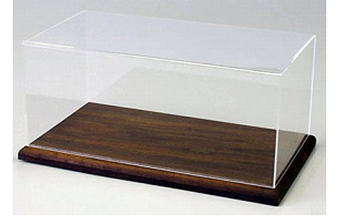 1/18スケール アクリルケース&木製ディスプレイベースセット デラックス (1/18 京商KS02075)