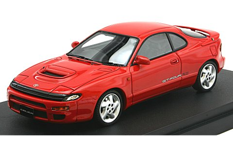 トヨタ セリカ GT-FOUR RC (ST185) スーパーレッドII (1/43 マーク43 PM4336R)