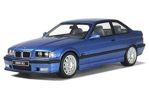 BMW E36 M3 3.2 ブルー (1/18 オットーモビルOTM625)