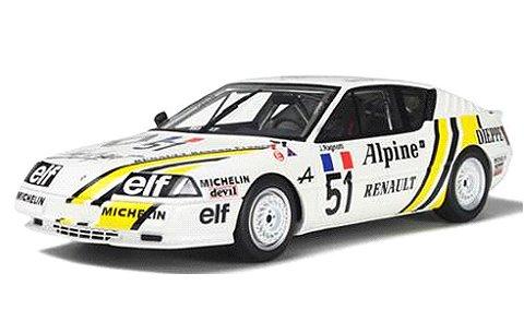 アルピーヌ GTA ヨーロッパカップ ホワイト/レーシングデカール (1/18 オットーモビルOTM185)