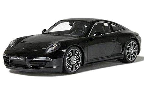 ポルシェ 911 カレラ ブラックエディション ブラック (1/18 GTスピリット GTS114)