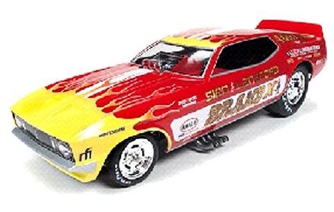 1970 フォード マスタング Sein & Lankford -Brand X Funny Car) (1/18 アメリカンマッスルAW1167)