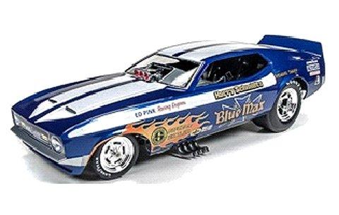 1971 フォード マスタング Blue Max (1/18 アメリカンマッスルAW1171)