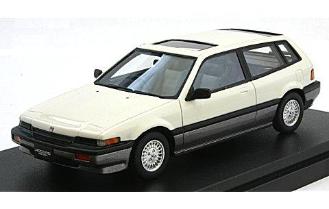 ホンダ アコード エアロデッキ 1985 ホワイト/ガンメタル (1/43 ハイストーリーHS142WH)