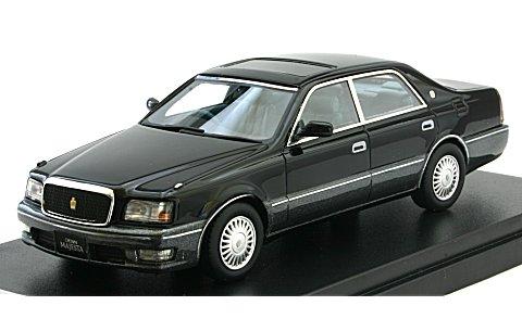トヨタ クラウン マジェスタ Cタイプ V8 4000 1997 ブラック (1/43 ハイストーリーHS131BK)