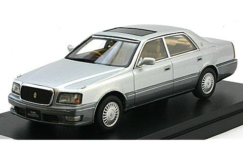 トヨタ クラウン マジェスタ Cタイプ V8 4000 1997 シルバーMトーニングG (1/43 ハイストーリーHS131SL)