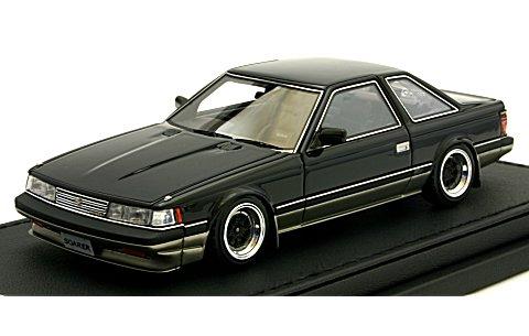 トヨタ ソアラ 2.0 (GZ10) ブラックツートン (1/43 イグニションモデル IG0362)