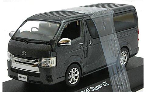 トヨタ ハイエース スーパーGL 2014 グレーM (1/43 京商KS03861GR)