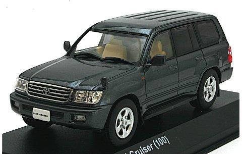 トヨタ ランドクルーザー 100 グレーM (1/43 京商KS03640GR)