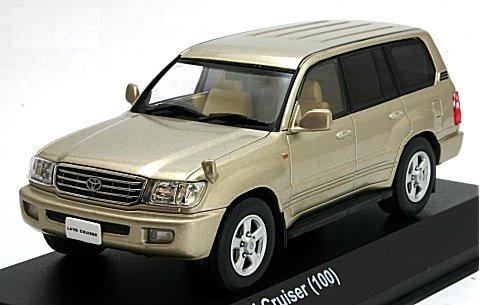 トヨタ ランドクルーザー 100 ゴールドマイカ (1/43 京商KS03640GL)